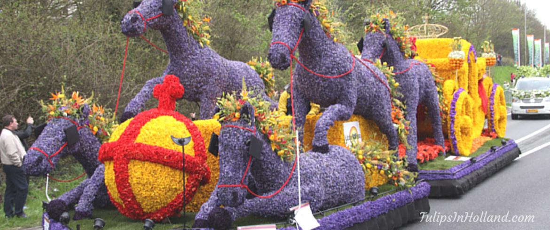 Bloemencorso flower parade 2015