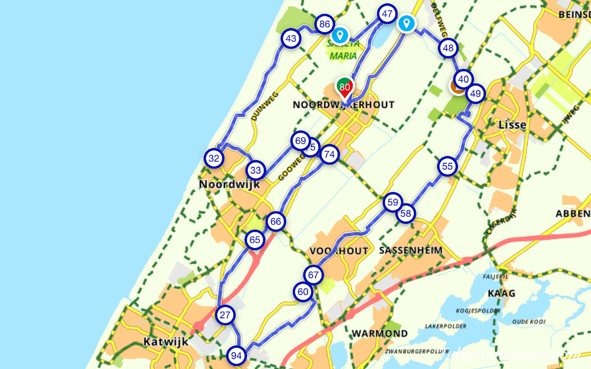 Netherlands Bicycle Map Images Reverse Search