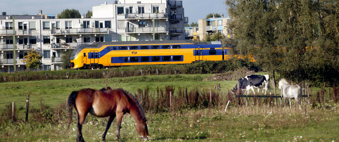 Travel by train in the Netherlands