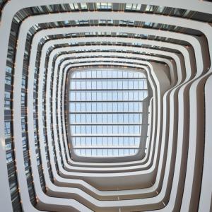 Atrium Hilton airport schiphol