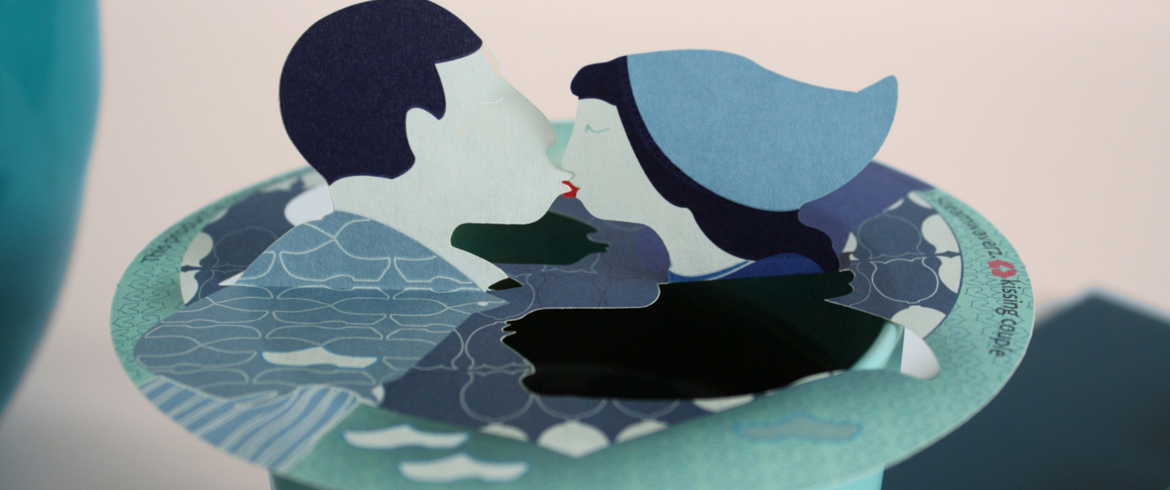Dutch Kissing Couple header