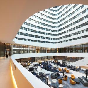 Lounge Hilton airport Schiphol