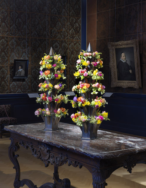 Frans Hals Museum Flowers from afar 3