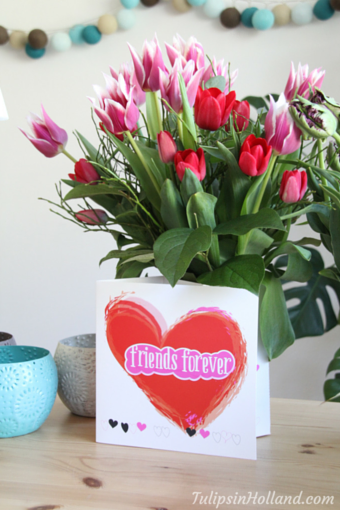 bloomincard greeting card and vase in one