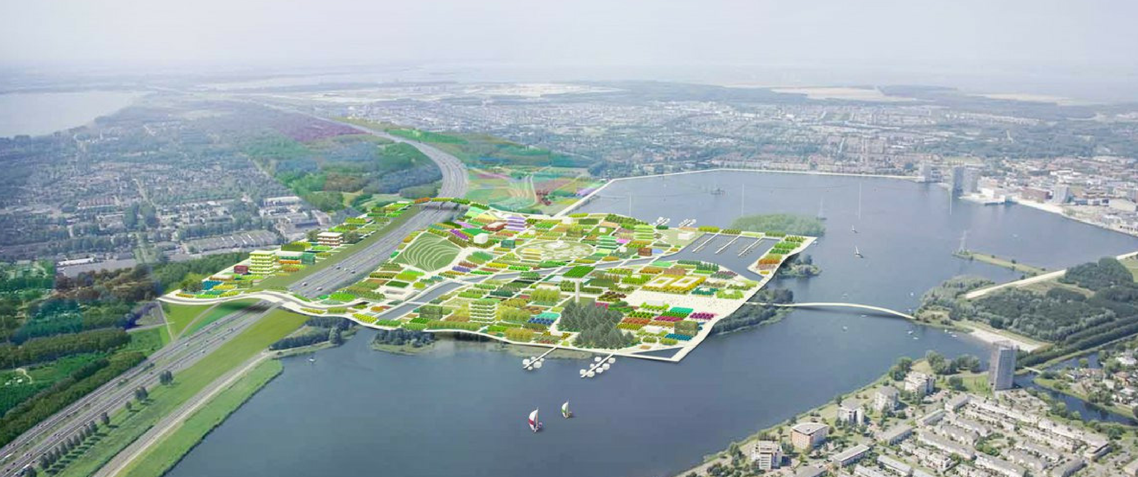 World Expo Floriade 2022 Amsterdam Almere